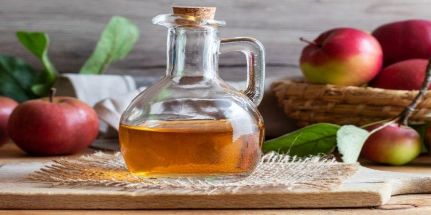 Elma sirkesi, cilt lekeleri ve saç kırıklarına karşı doğal çözüm sunuyor'