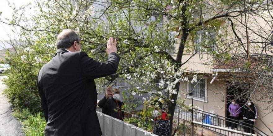 Kocaeli Valisi Seddar Yavuz,87 binin üzerinde aileye ulaştı