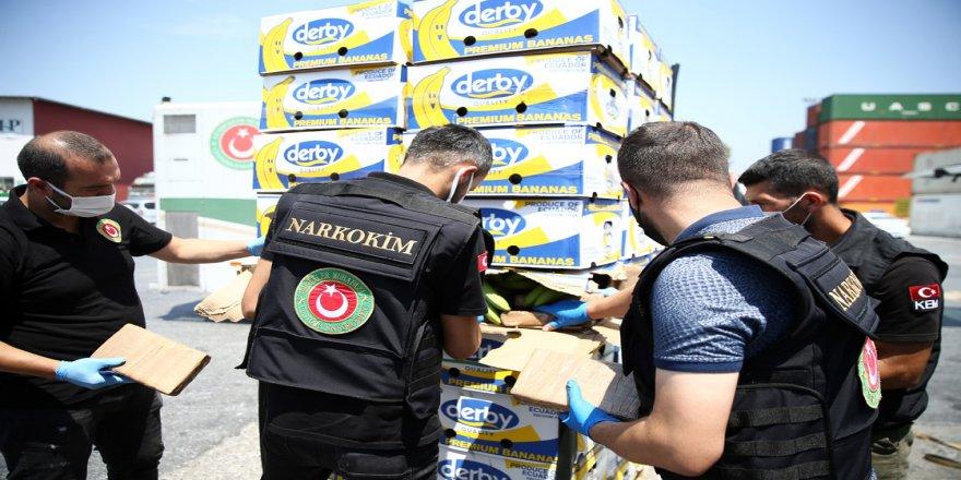 Mersin Limanı'ndaki operasyonda 150 kilo daha kokain ele geçirildi, uyuşturucu miktarı 1 ton 300 kilograma çıktı