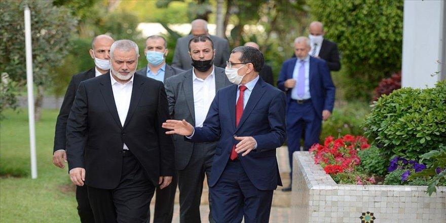 Fas, Hamas heyetini ağırlayarak İsrail'e halen Filistin davasının yanında olduğu mesajı veriyor