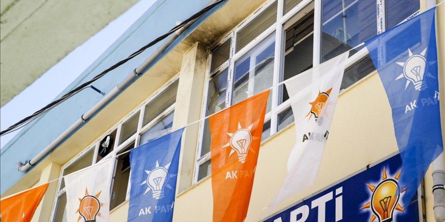 Molotofkokteylli saldırının yapıldığı AK Parti Hani İlçe Başkanlığındaki hasar görüntülendi