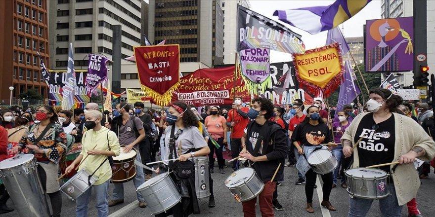 Brezilya'da ülke çapında Bolsonaro hükümeti karşıtı gösteriler düzenlendi