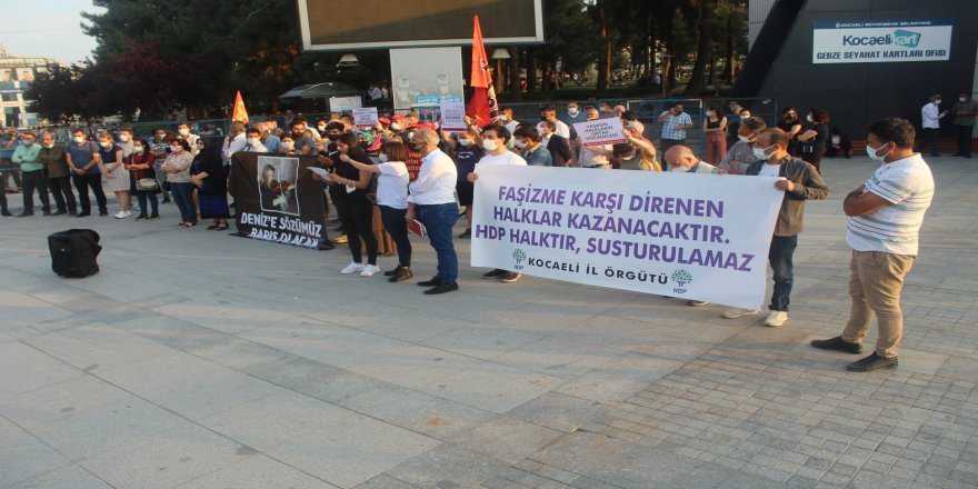 HDP Gebze'de basın açıklaması düzenlendi