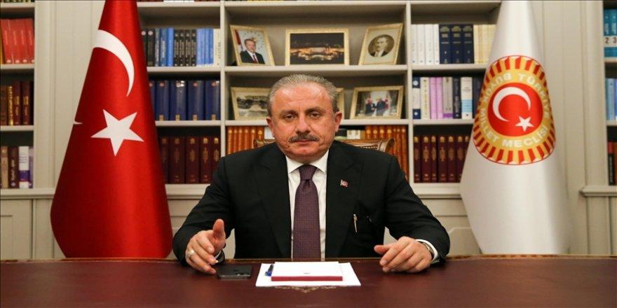 TBMM Başkanı Şentop, Türkiye'nin elde ettiği teknolojik gelişmelerle terörle mücadelesini iyi bir noktaya taşıdığını söyledi.