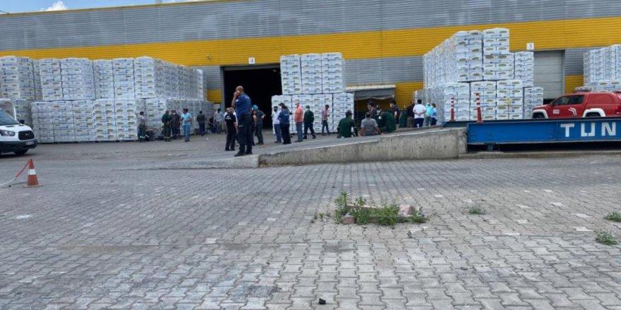 Fabrikada çıkan gazdan çok sayıda işçi zehirlendi