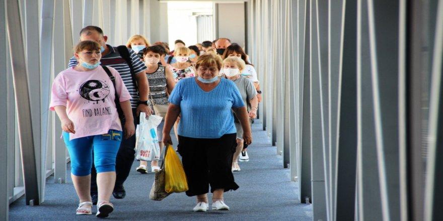 Bodrum'a Rus turistler akın akın gelmeye başladı