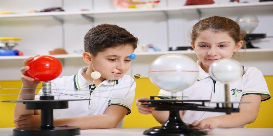 TÜBİTAK'tan İTÜ ETA Vakfı Doğa Koleji öğrencilerine 13 derece