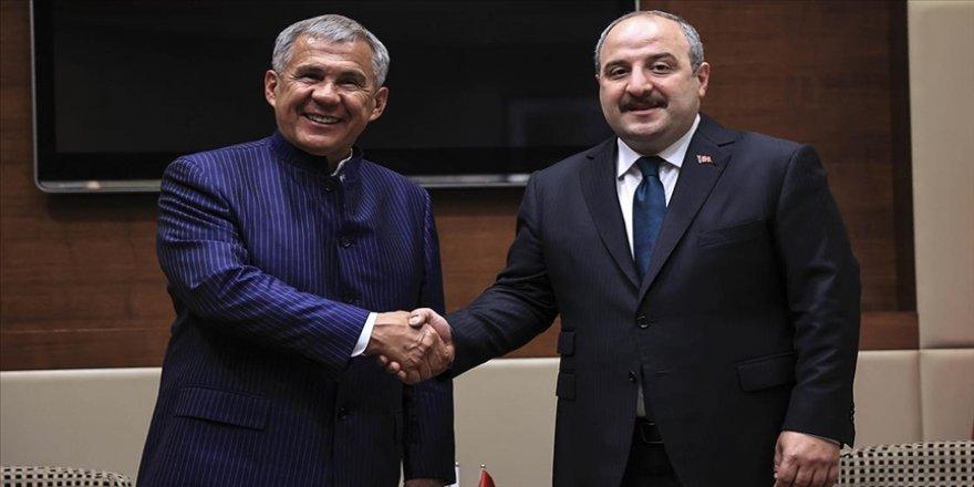 Bakan Varank'tan Tataristan ile ilişkilerde 'iş birliği' vurgusu