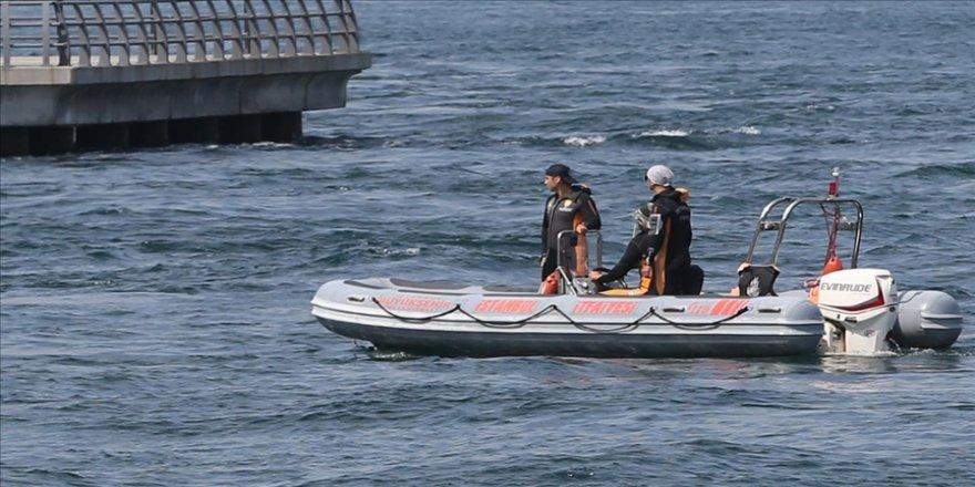 Denizde kaybolan AA çalışanını arama çalışmaları devam ediyor