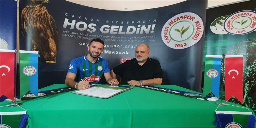 Çaykur Rizespor, Gökhan Gönül ile 2 yıllık sözleşme imzaladı