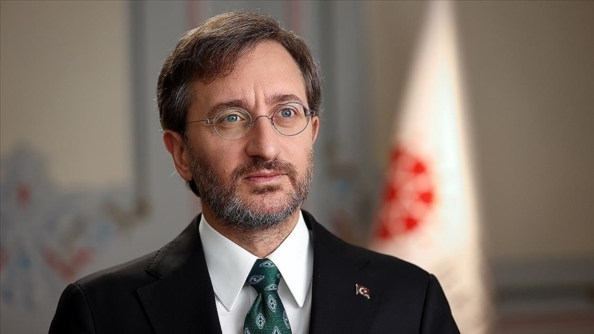 Cumhurbaşkanlığı İletişim Başkanı Altun: Zaman, iki devletli bir çözümü gerçekleştirmek için çalışmanın zamanı