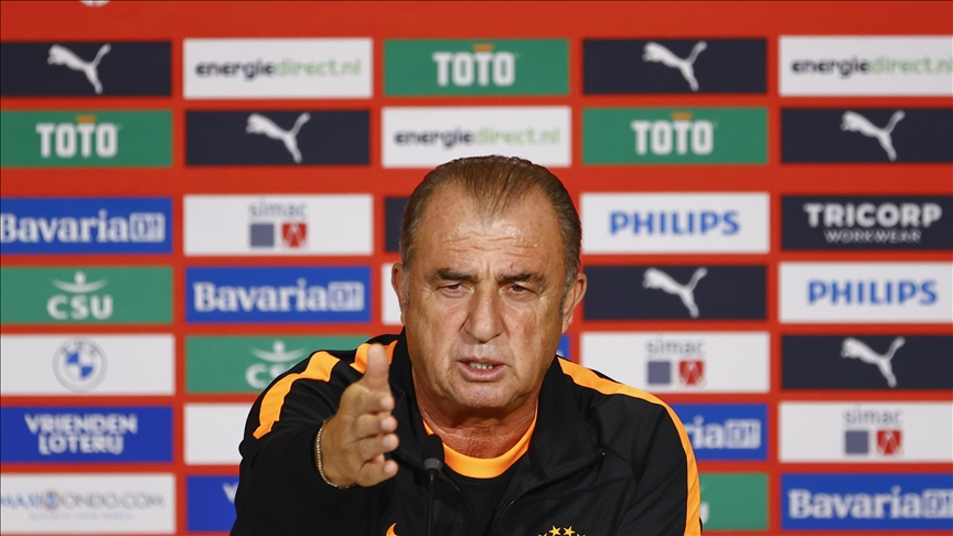 Galatasaray Teknik Direktörü Fatih Terim, PSV'ye karşı ilk maçta avantajlı skor almayı hedefliyor