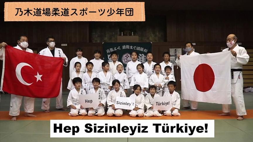 Japon sporculardan Türkiye Judo Milli Takımı'na destek mesajı