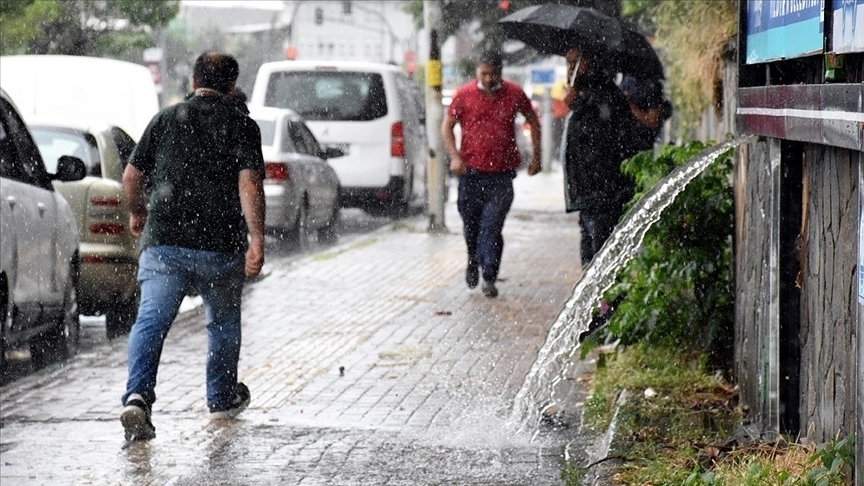 Erzurum, Erzincan, Kars, Ağrı, Iğdır ve Ardahan için sağanak uyarısı