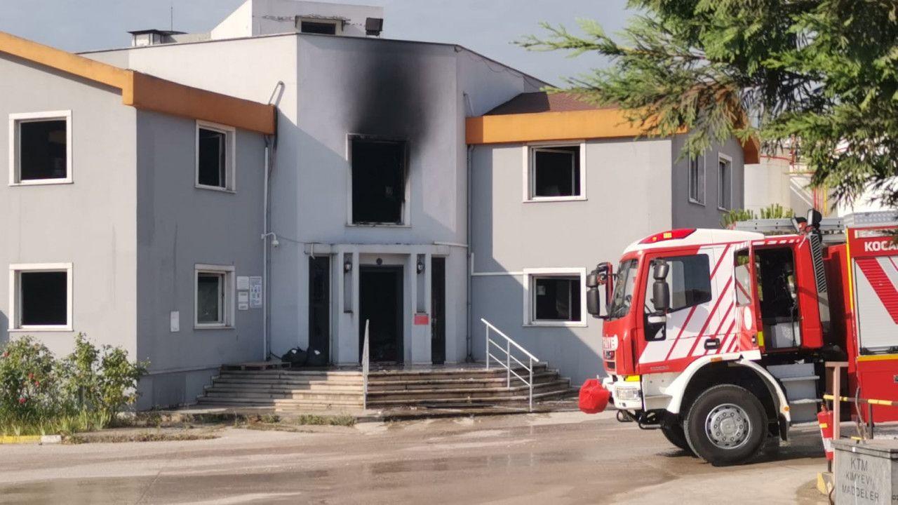 Dilovası'nda Kimya fabrikası alev alev yandı
