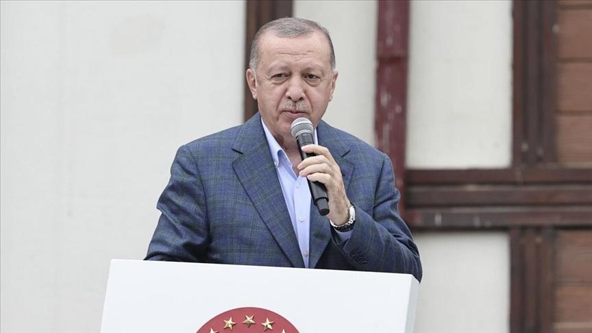 Cumhurbaşkanı Erdoğan: İlk etapta Rize genelinde toplam 550 konut inşa edeceğiz