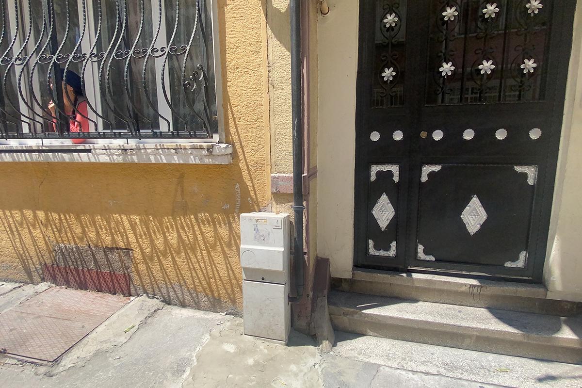 İstanbul'un göbeğinde yılan paniği