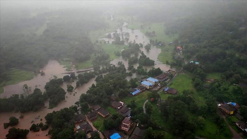 Hindistan'daki sel ve heyelanlarda hayatını kaybedenlerin sayısı 136'ya yükseldi