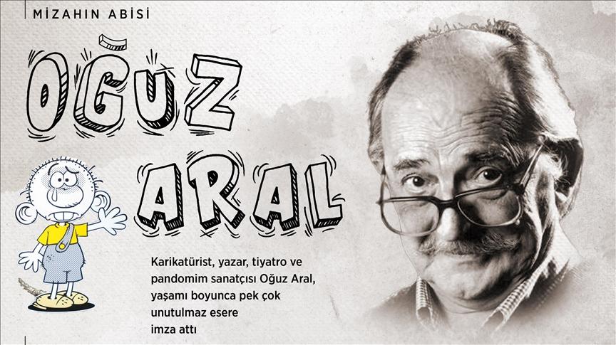 Karikatürün duayen ismi Oğuz Aral, 17. ölüm yıl dönümünde anılıyor