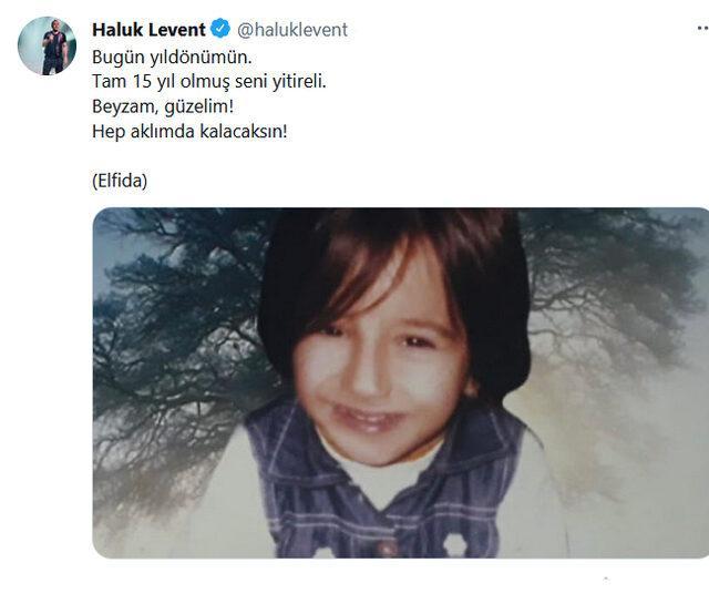 Haluk Levent'ten duygulandıran 'Elfida' paylaşımı