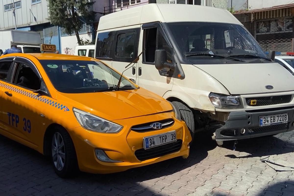 Şişli'de 'yol verme' kavgasında kan aktı: Taksici tartıştığı sürücüyü bacağından vurdu
