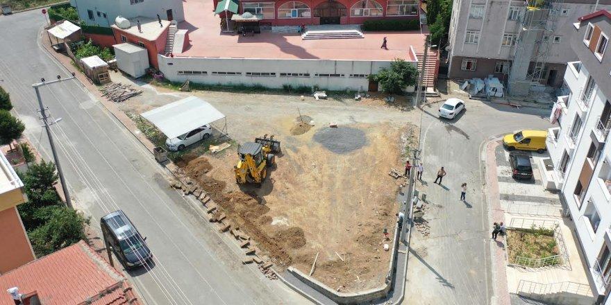 Atatürk Mahallesi'ne iki yeni park