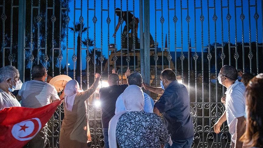 AB Tunus'ta meclis faaliyetlerinin yeniden başlatılması çağrısı yaptı