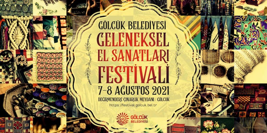 """""""El Sanatları Festivali"""" 7-8 Ağustos tarihlerinde, yapılacak"""