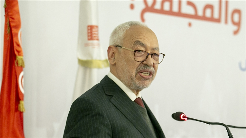 Tunus Meclis Başkanı Gannuşi: Said'in kararları diktatör rejim kurmanın el kitabında geçiyor