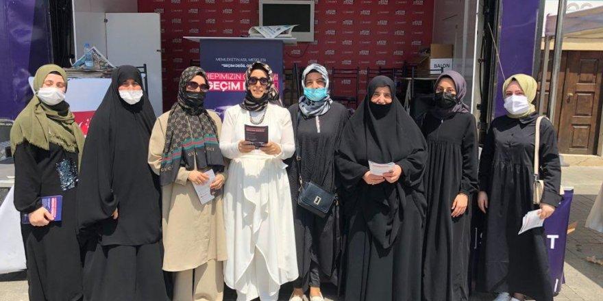 Saadet Partisi Gebze Kadın Kolları,esas gündem seçim değil geçim