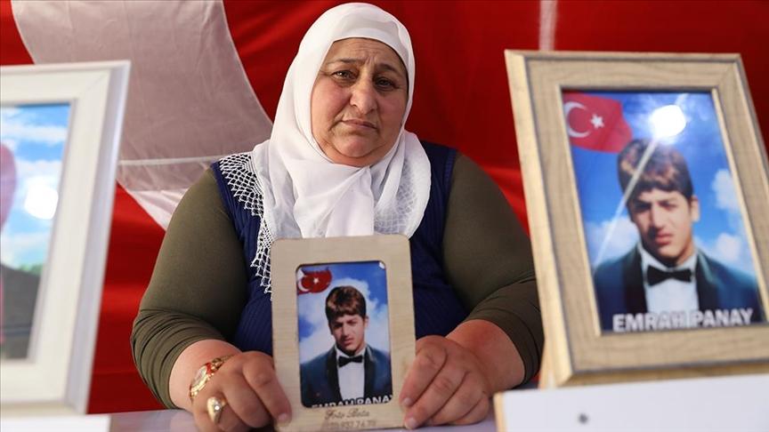 Diyarbakır annelerinden Panay: 10 yıldır hasretim, kurban olurum gel