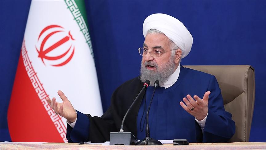 İran Cumhurbaşkanı Ruhani: Bazı gerçekleri ulusal birliğe zarar vermesinden korktuğum için açıklamadım