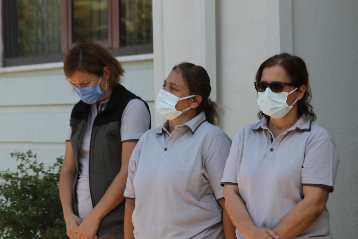 Antalya'da yangında ölen işçilerin mesai arkadaşları gözyaşlarını tutamadı
