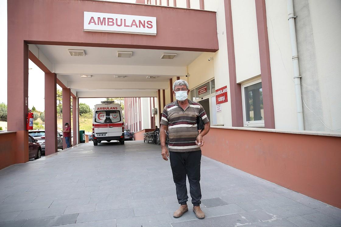 Manavgat'taki yangında 'öldü' sanılan kişi, dağda 3 saat yürüyerek alevlerden kurtulmuş