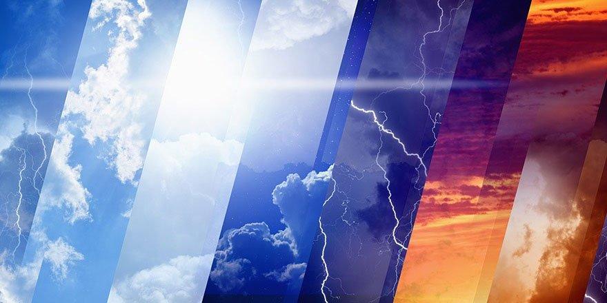 Meteoroloji bölge bölge uyardı ! Bir taraf da sel, bir taraf da sıcaklık…