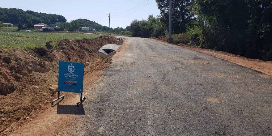 Himmetli Köyü Köseler Nalbantlar köy içi yolu daha güvenli olacak