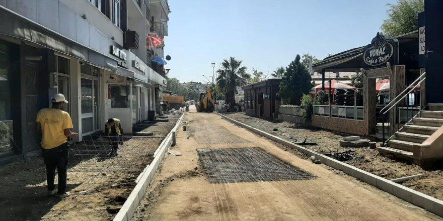 Gazanfer Bilge Caddesi'nin alt ve üstyapısı yenileniyor