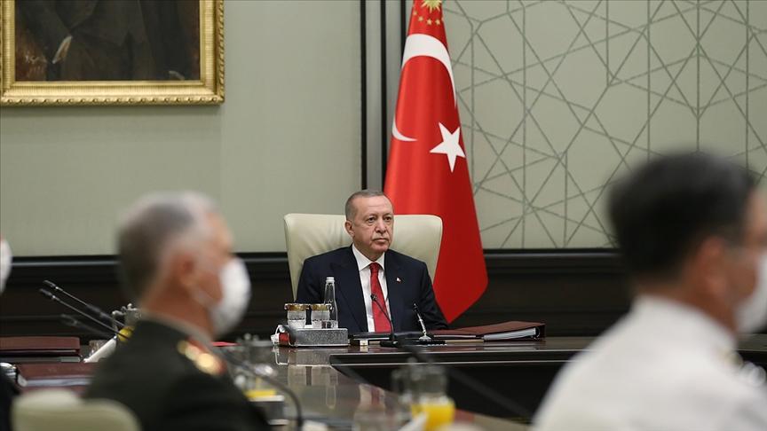 Cumhurbaşkanı Erdoğan başkanlığındaki Yüksek Askeri Şura yarın toplanacak
