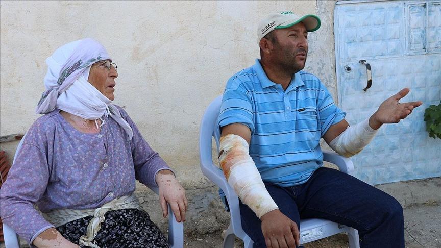 Denizli'de traktörünü alevlerin arasında bırakıp yanmaktan kurtulan Köylüoğlu, o anları anlattı
