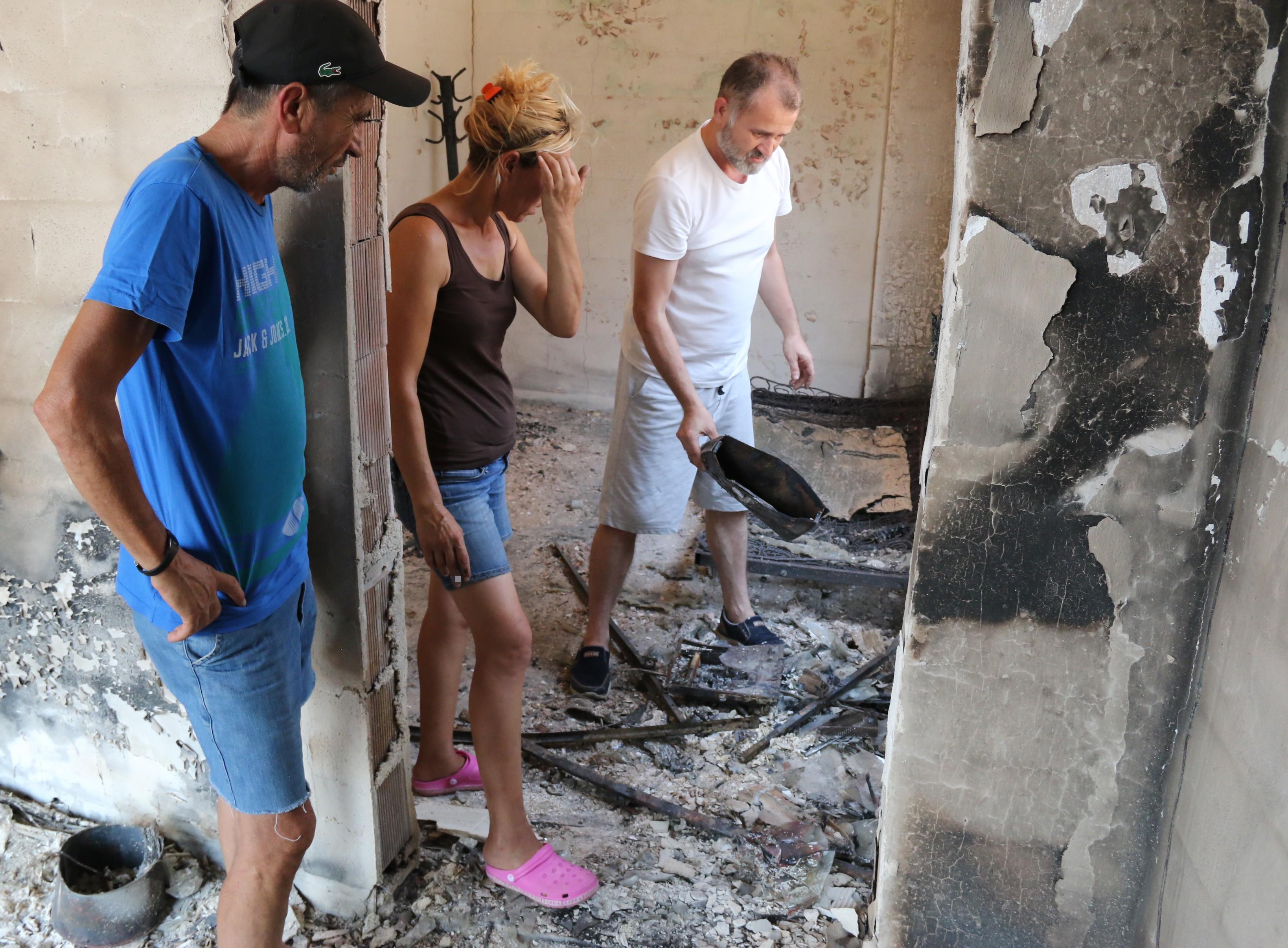 Manavgat yangınında çiftliği küle dönen kadın: 'Cehennemi yaşadım'