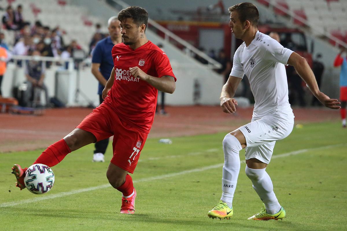 Sivasspor'un Avrupa Kupalarında 17. randevusu