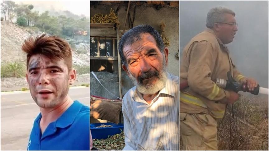 Orman yangınlarında hayatını kaybedenlerin hikayeleri hüzünlendirdi