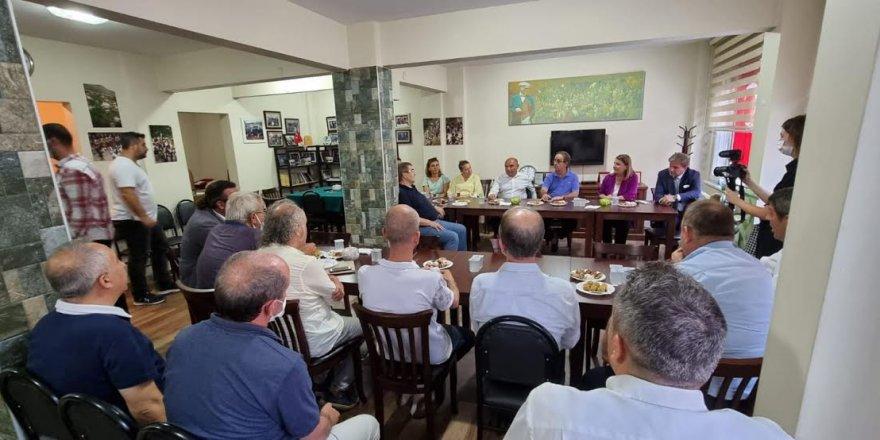 CHP'den Makedonya Derneği Ziyareti