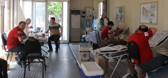 Kan bağış tırı Gebze'de