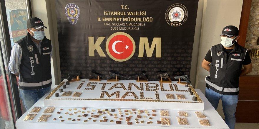İstanbul merkezli 6 ilde altın operasyonu; 24 gözaltı