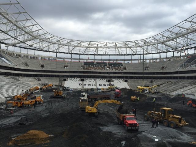 Vodafone Arena'da sona yaklaşıldı