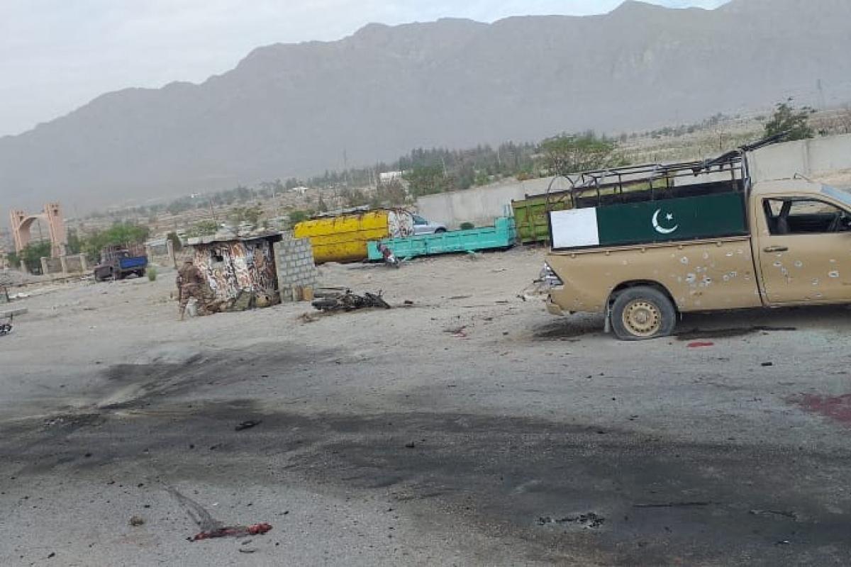 Pakistan'da güvenlik noktasına saldırı: 4 ölü, 20 yaralı