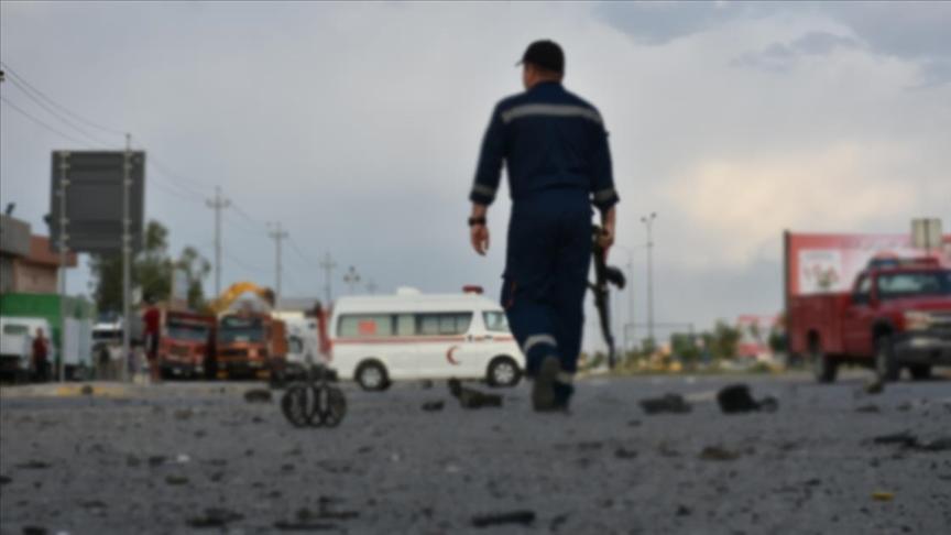 Haşdi Şabi komutanı Irak'taki bombalı saldırıda hayatını kaybetti