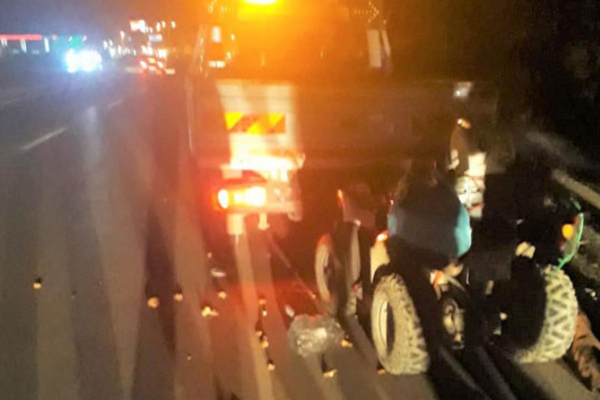 Amasya'da ATV aracı kamyonete çarptı: Yaşlı çift hayatını kaybetti