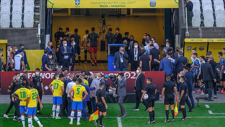 Brezilya-Arjantin maçının ertelenmesini İspanyol basını 'utanç' olarak verdi